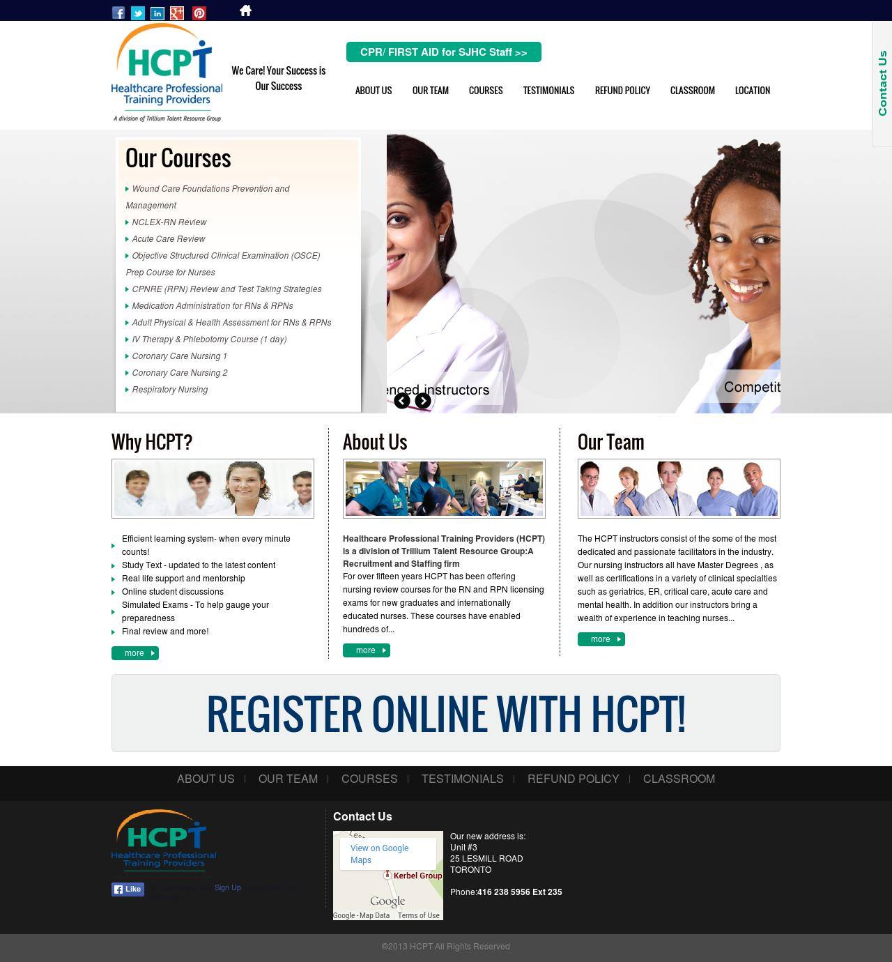 http://www.hcprofessionals.com